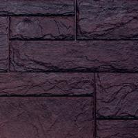 """Цокольный сайдинг FineBer (Файнбер) – Серия """"Камень природный"""", Коричневый"""
