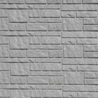 Сайдинг Тecos, натуральный камень, серый