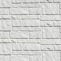 Сайдинг Тecos, натуральный камень, белый