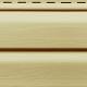 Виниловый сайдинг Ю-пласт, Кремовый