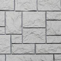 Фасадная панель «Нордсайд», коллекция «Северный камень» - Белый