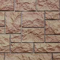 Фасадная панель «Нордсайд», коллекция «Северный камень» - Терракотовый
