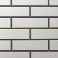 Фасадная панель «Нордсайд», коллекция «Гладкий кирпич» - Белый