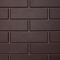 Фасадная панель «Нордсайд», коллекция «Гладкий кирпич» - Темно-коричневый